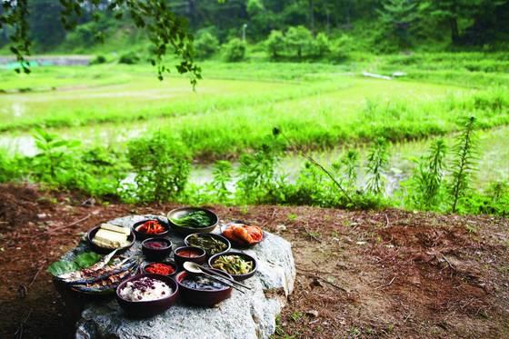 모내기 철 일꾼을 먹이던 '못밥'을 잇는 강릉의 한식당 '서지초가뜰' [중앙포토]