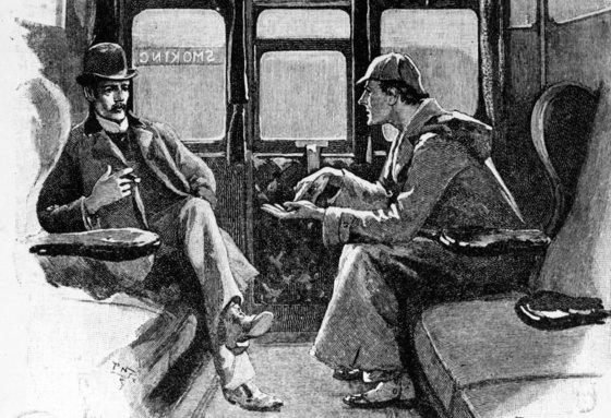 셜록 홈스는 드라마, 영화로도 제작됐다. [출처: BBC]