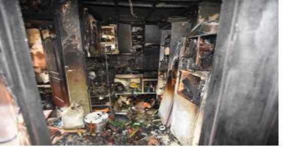 서울 구로구의 한 주택에서 화재가 발생해 방에 있던 조모군(7)이 숨졌다. [사진 서울 구로소방서]