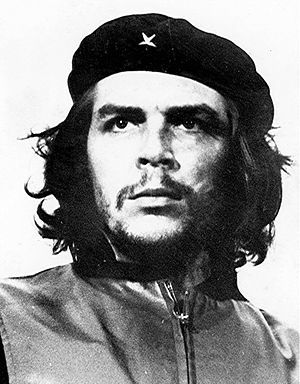 쿠바 정부 공식 사진작가였던 알베르토 코르다가 1960년 3월5일 촬영한 게바라의 모습. '혁명가의 초상'이란 제목이 이 사진은 전세계에서 가장 많이 복제된 작품으로 통한다.