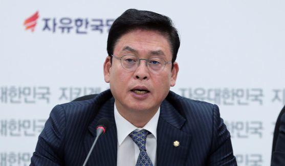 정우택 자유한국당 원내대표. [중앙포토]
