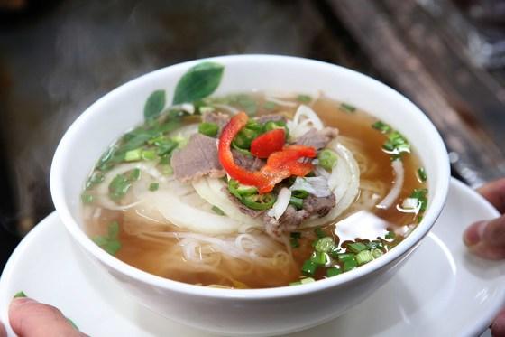 소고기 육수의 쌀국수. 이국적인 향이 더해진 베트남 쌀국수가 인기다.