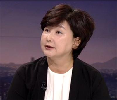 가수 김광석씨의 부인이었던 서해순씨. [JTBC 캡처]