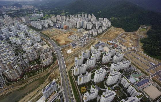 수도권 2기 신도시인 위례신도시 전경. [사진 LH]