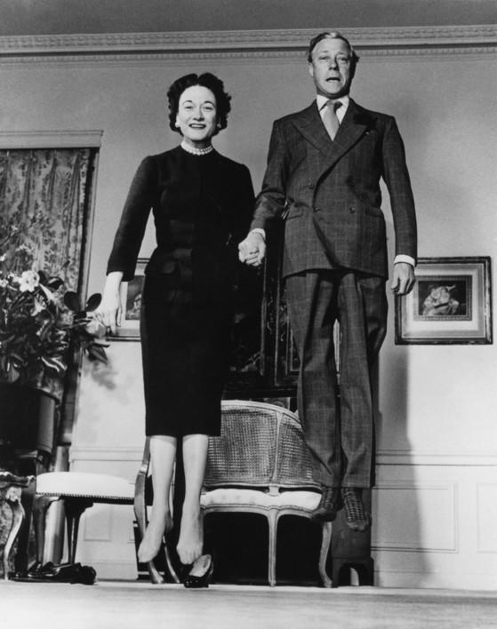 필립 할스만의 '윈저공 부부 The Duke and Duchess of Windsor'(1958).