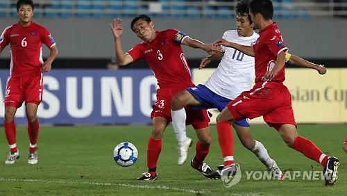 2010 AFC U-19 챔피언십 남북 대결 당시 북한 팀