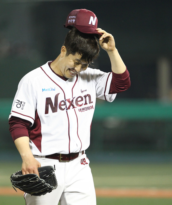 넥센 김병현.
