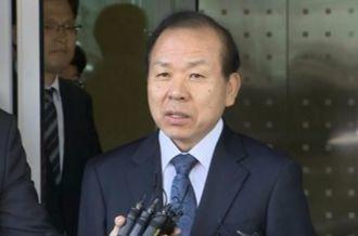 지난 9월 16일, 해외출장 마치고 돌아온 김이수 헌법재판소장 권한대행. [연합뉴스]