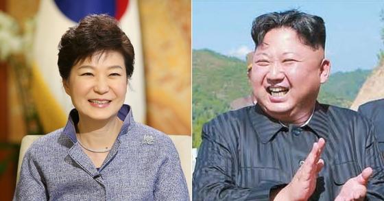 [사진 청와대, 조선중앙TV]