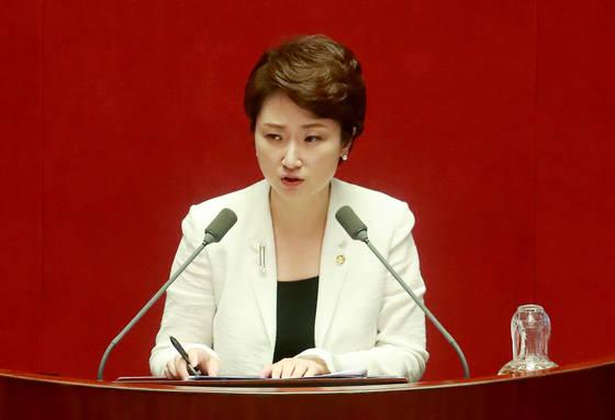 국민의당 이언주 의원. [연합뉴스]
