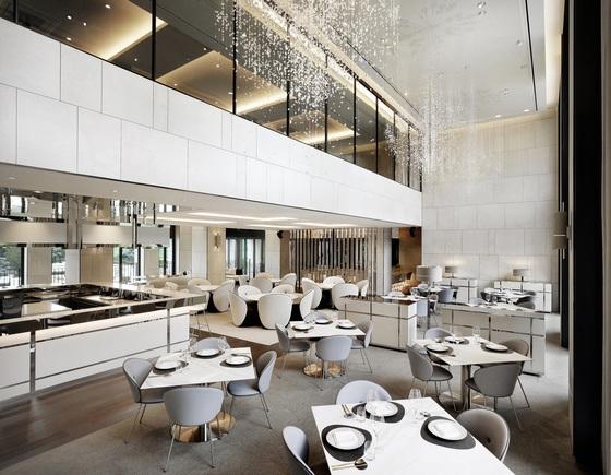 반얀트리 클럽 앤 스파의 모던 한식당 '페스타 다이닝'. 7월 유러피안 레스토랑을 모던 한식당으로 바꿨다. [사진 반얀트리 클럽 앤 스파]