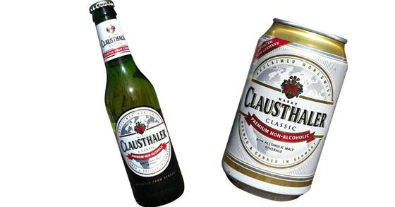 수입맥주 클라우스탈러는 무알코올 맥주로 알려졌으나 실제로는 0.49%의 알코올이 함유됐다.[중앙포토]