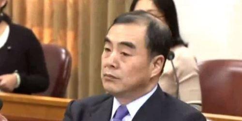 7일 열린 북한 정권수립일 행사에 참석한 쿵쉬안유 중국 외교부 부장조리 [사진 JTBC 캡처]