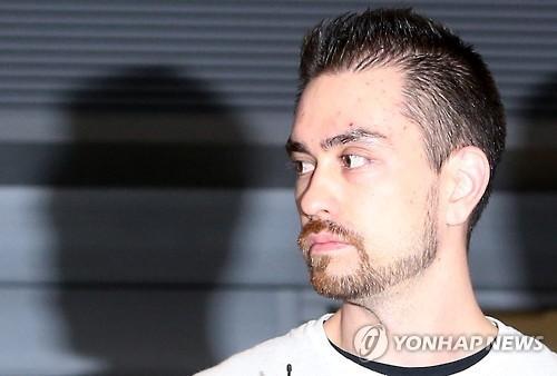 이태원 살인사건의 주범으로 20년형을 선고받은 아더 존 패터슨 [연합뉴스]