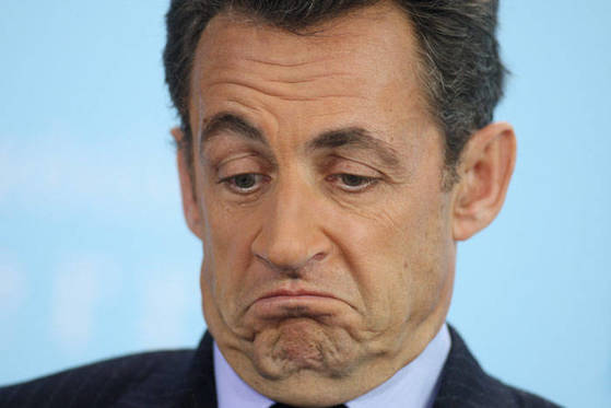 니콜라 사르코지 전 프랑스 대통령. [중앙포토]