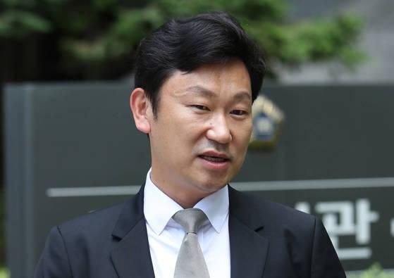 곽상언 변호사. 곽 변호사는 고(故) 노무현 전 대통령의 사위로 유명하다. [연합뉴스]