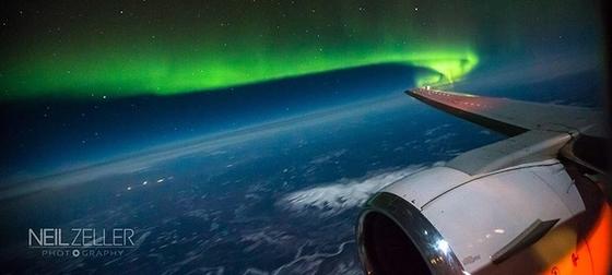 11월 비행기를 타고 캐나다 상공에서 오로라를 관측할 수 있는 기회가 열린다. [사진 캐나다관광청]