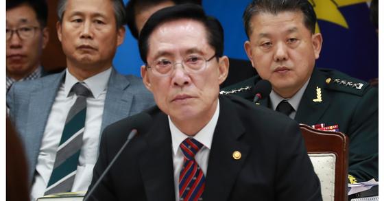 송영무 국방부 장관. 임현동 기자