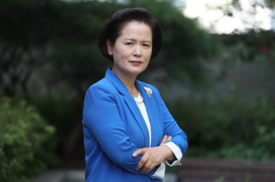 여성 최초 치안정감 역임한 이금형 전 부산경찰청장. 최승식 기자