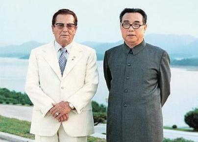 냉전기 돈독한 우호 관계를 유지했던 유고슬라비아연방의 티토 대통령(왼쪽)과 북한 김일성 주석