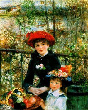 르누아르의 '두 자매'