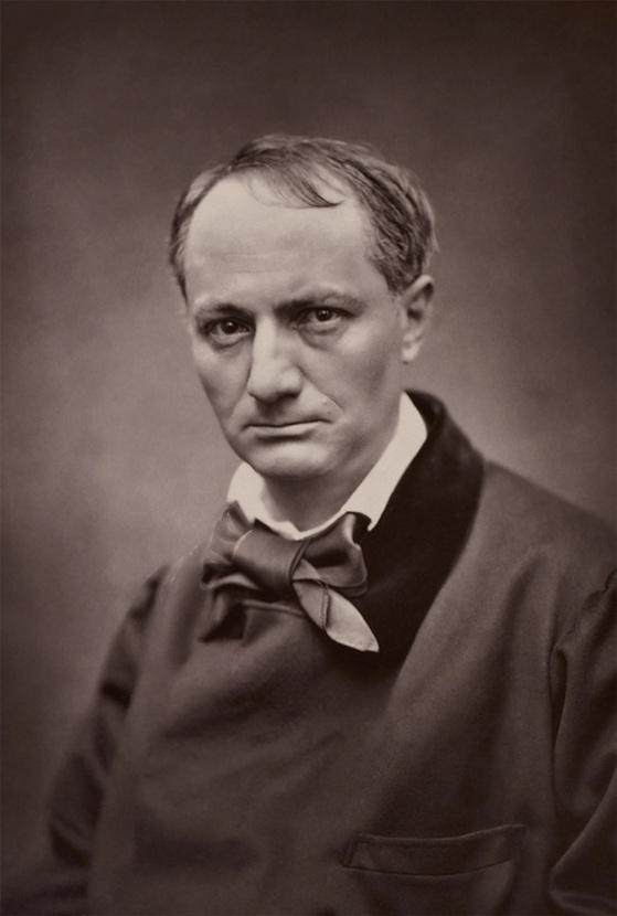 [사진1] 보들레르, 1863, 카르자