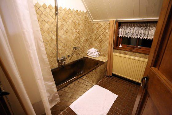 깔끔하게 정비돼 불편함이 없었던 욕실.