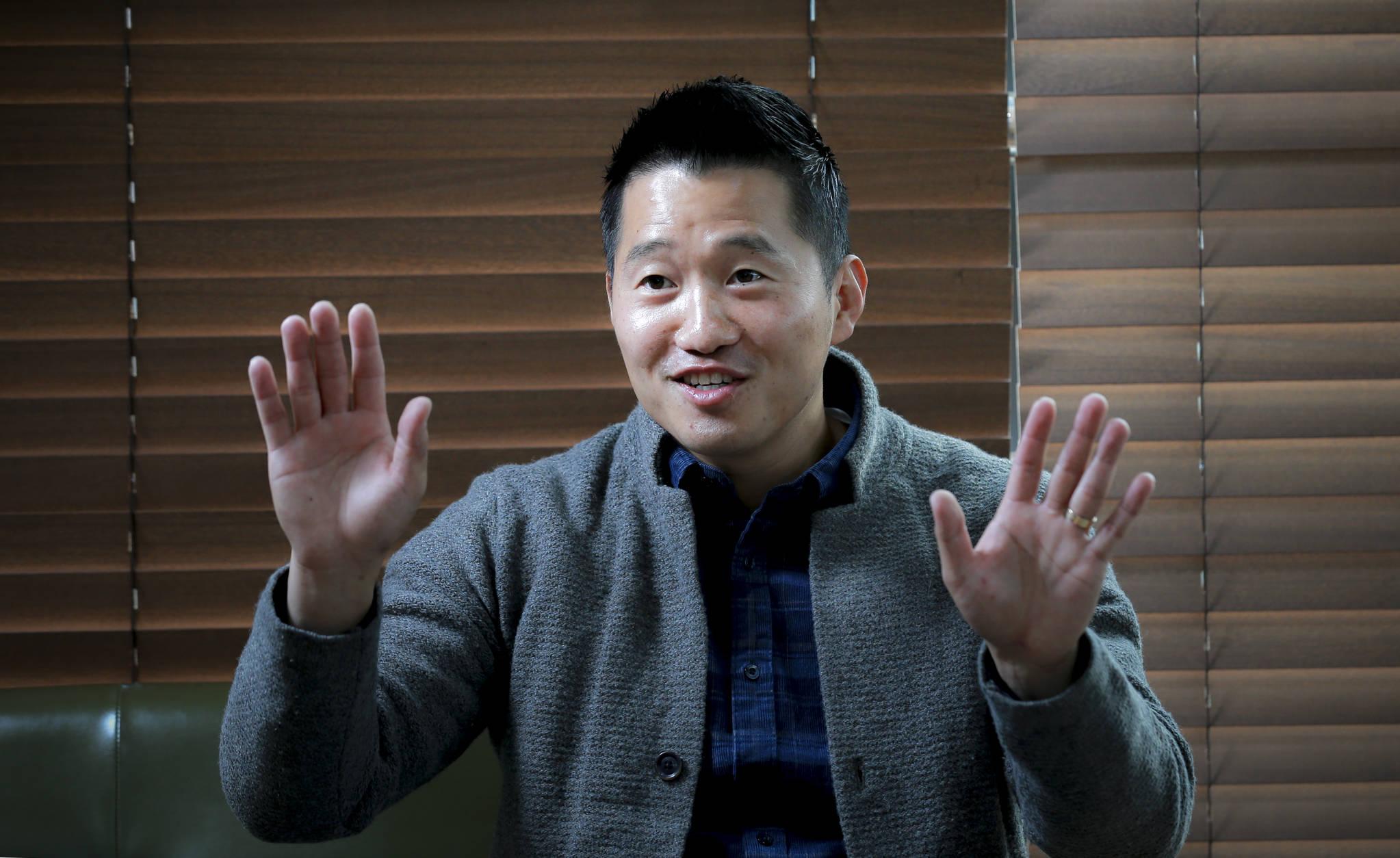 애견훈련 전문가 강형욱 조련사. 임현동 기자