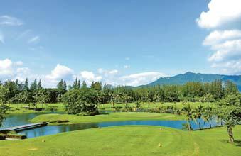 태국의 써제임스 골프장은 자연을 그대로 살려 만들었다. [사진 써제임스 컨트리클럽&리조트]