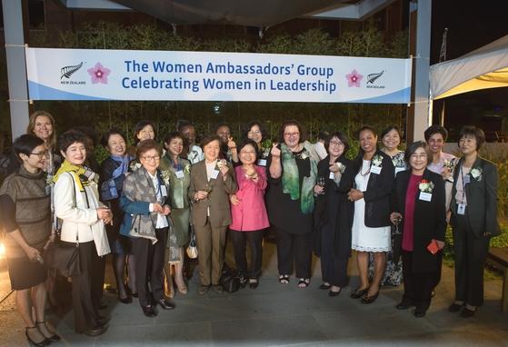 주한 여성 대사 9명 '여성 리더십 리셉션'