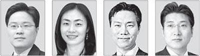 왼쪽부터 양해근, 정현영, 조현수, 김지훈.