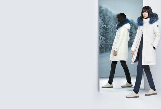 코오롱스포츠는 FW시즌 주력 아이코닉 아이템인 다운 상품 '안타티카'의 캠페인을 시작했다. [사진 코오롱스포츠]