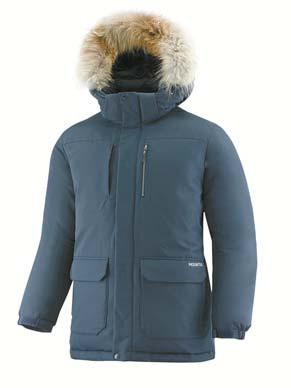 겨울 주력 제품인 '노블다운재킷'