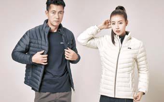 '라이트 그리드 멜란 구스 재킷'은 외투 안에 레이어드해서 입기 좋은 아이템이다. [사진 레드페이스]