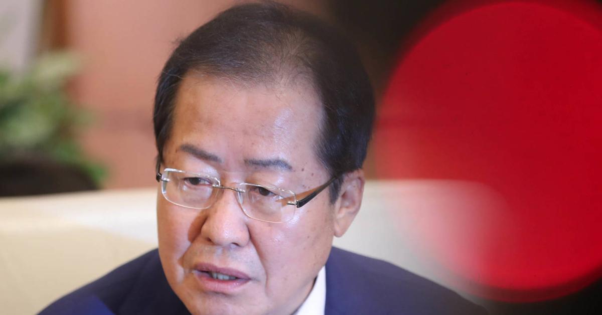홍준표 자유한국당 대표. 강정현 기자
