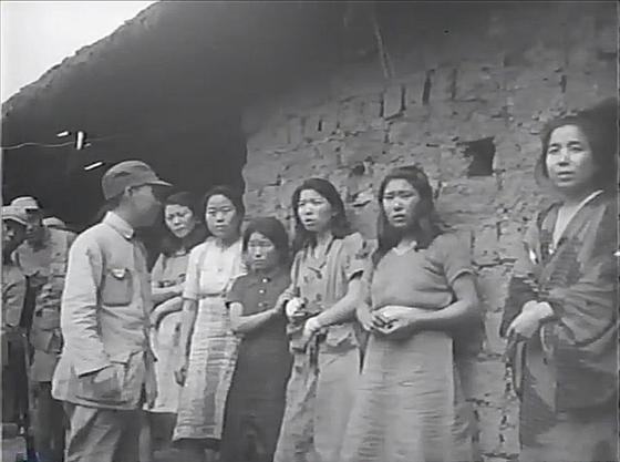 지난 7월 5일 공개된 일본군 위안부 영상 속 한국인 위안부들. [사진 서울시·서울대 인권센터]