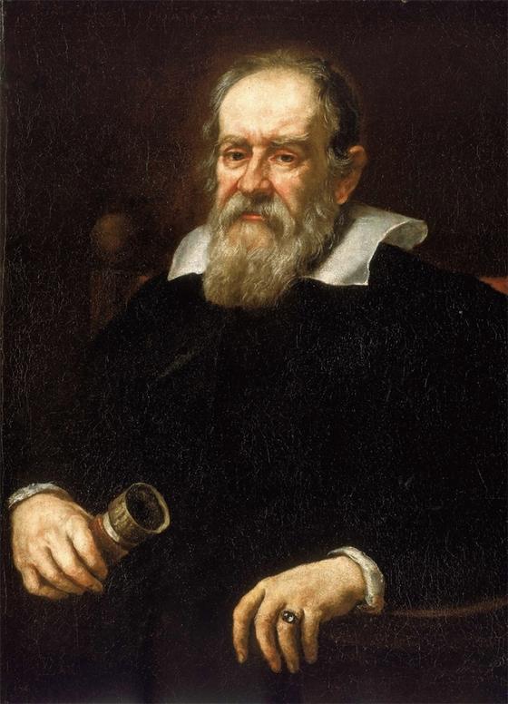 저스투스 서스테르만스가 그린 갈릴레오 갈릴레이의 초상화.
