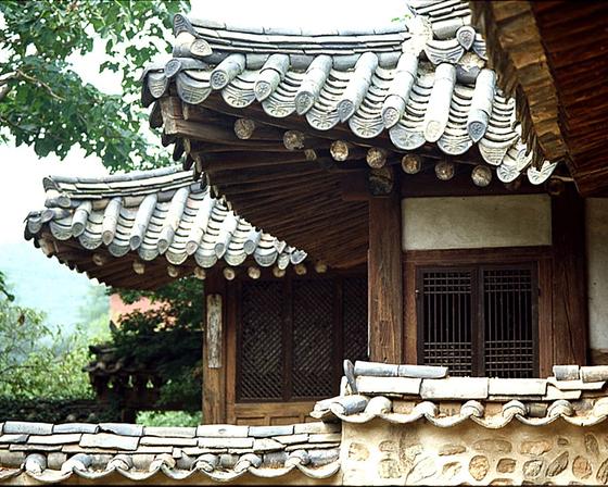 한옥문화촌 경기도 미금시 민속박물관. [중앙포토]