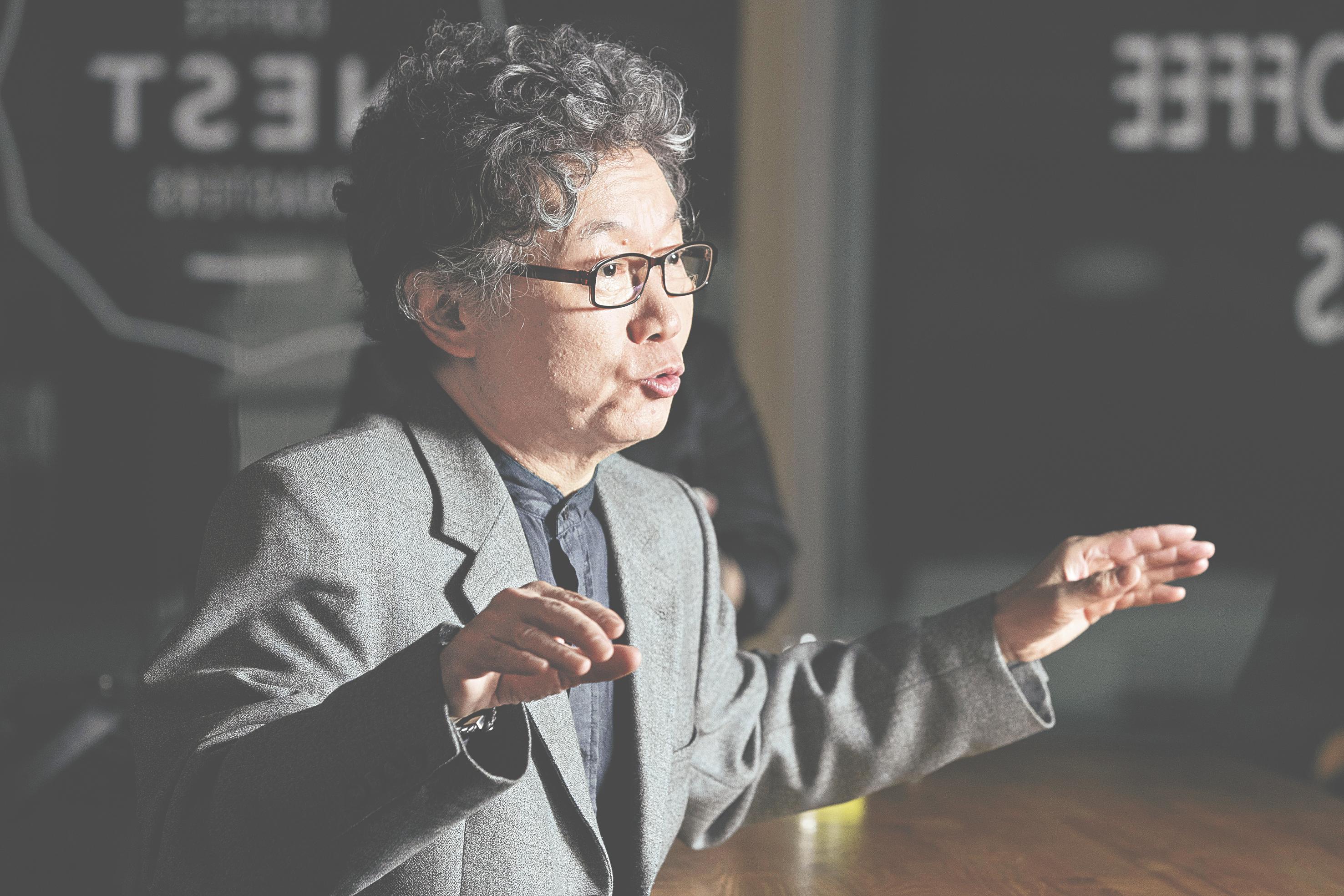 지난달 중앙일보와 인터뷰중인 서균렬 서울대 원자핵공학과 교수. 장진영 기자