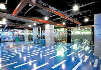 (주)바디스타는 100명 이상의 퍼스널 트레이너들이 고객의 보디를 디테일하고 체계적으로 디자인한다.