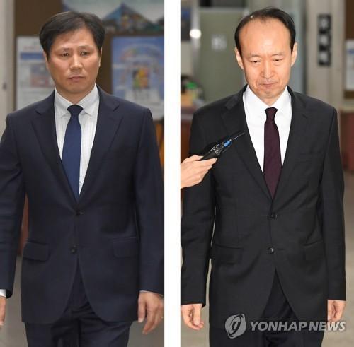 안봉근-이재만 전 청와대 비서관[연합뉴스]