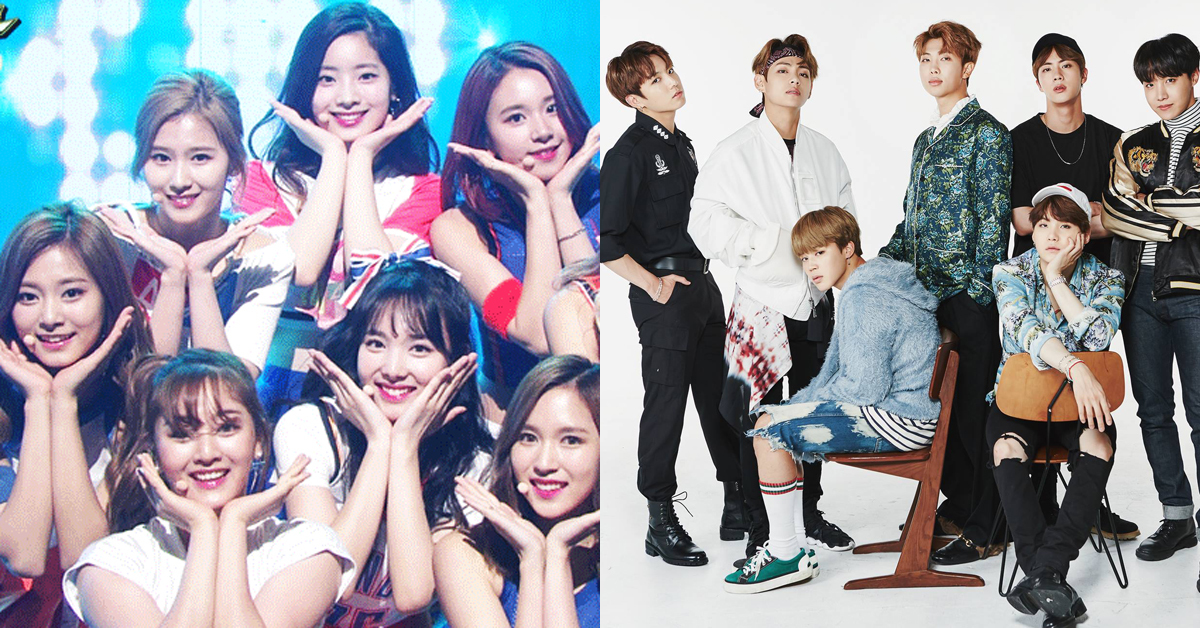 Twice and BTS
