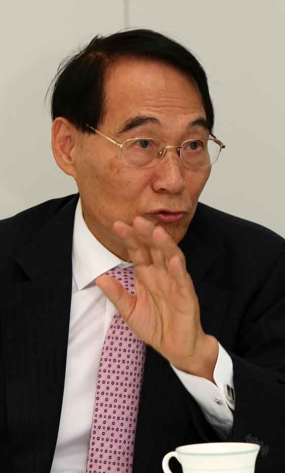 김만복 전 국가정보원장. [중앙포토]