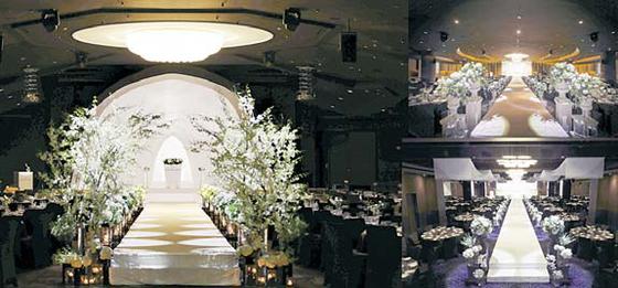 그랜드힐 컨벤션은 3층짜리 건물로 층별 홀을 한 개씩 운영해 단독 예식을 진행한다.