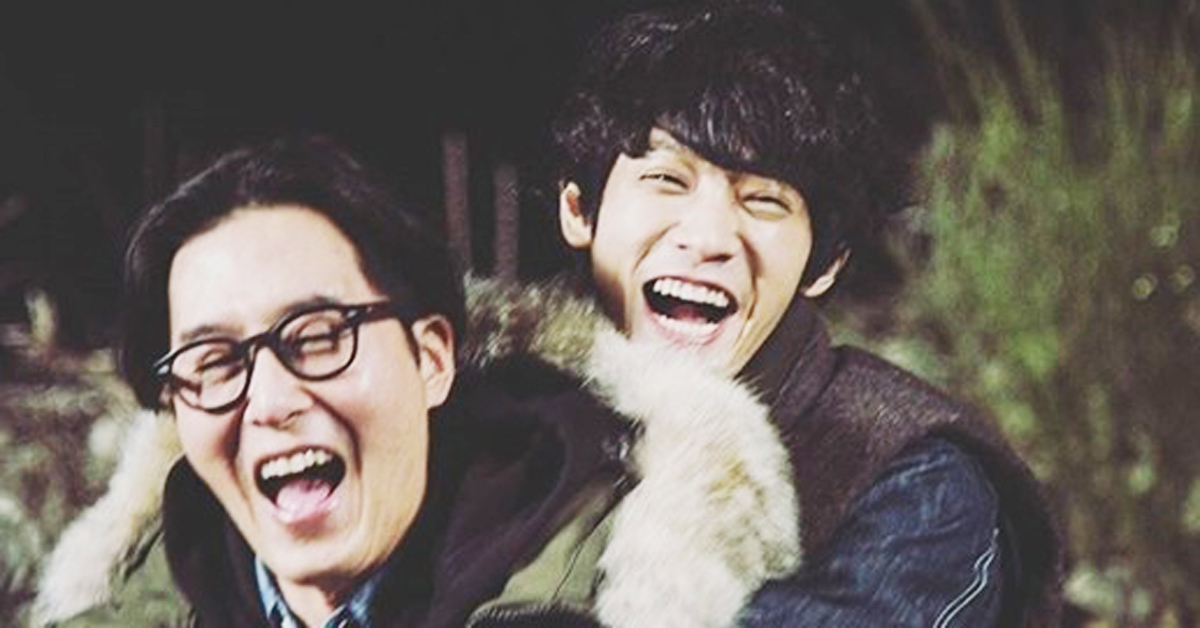 Kim Ju-hyuk and Jung Joon-young