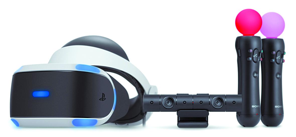 소니의 가상현실(VR) 게임기인 PSVR. [중앙포토]
