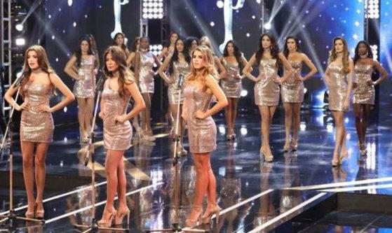 지난달 30일(현지시간) 열린 2017 미스 페루 결선대회에서 참가자들은 각자 신체 사이즈를 밝히는 대신 페루의 성폭력 실태를 고발했다.