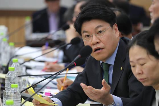 자유한국당 정치보복 특별대책위원회 장제원 대변인. [연합뉴스]