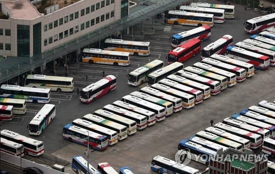 부산 시외버스터미널 전경. [연합뉴스]