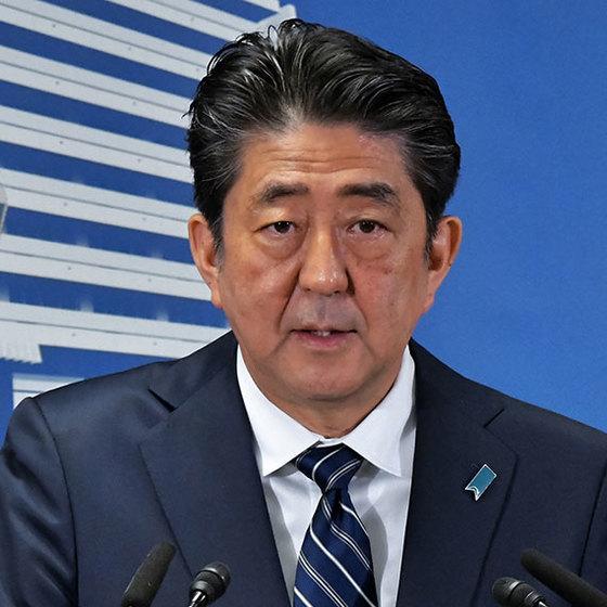 아베 신조 일본 총리.[UPI=연합뉴스]